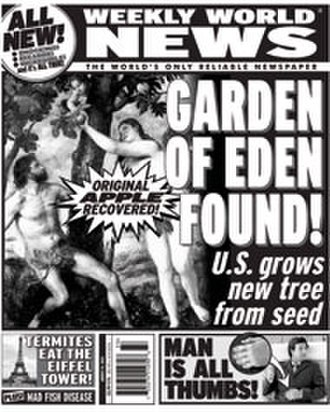 Weekly World News - August 15, 2005 cover of Weekly World News