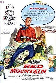 <i>Red Mountain</i> (film) 1951 film by William Dieterle