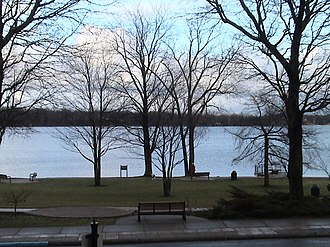 East Grand Rapids, Michigan - East Grand Rapids is centered on Reeds Lake.