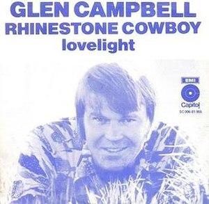 Rhinestone Cowboy - Image: Rhinestone Cowboy Glen Campbell