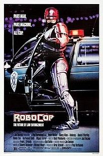 <i>RoboCop</i> 1987 action film directed by Paul Verhoeven