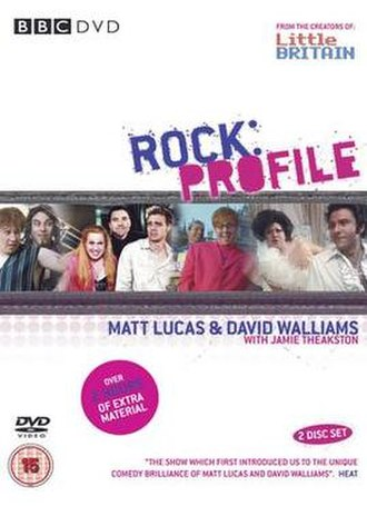 Rock Profile - DVD cover of the Rock Profile series.
