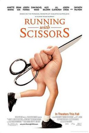 Running with Scissors (film) - Theatrical release poster