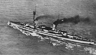 SMS Friedrich der Grosse (1911) - Friedrich der Grosse steaming to Scapa Flow for internment