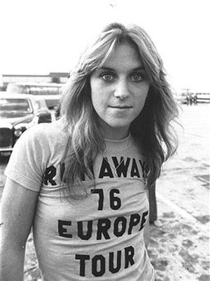 Sandy West - West in 1976