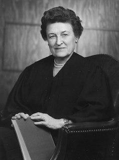 Sarah T. Hughes American jurist