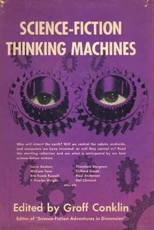 Science Fiction Thinking Machines - cover of first edition