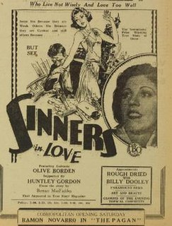 <i>Sinners in Love</i> 1928 film by George Melford