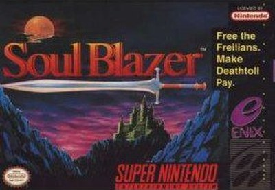 Picture of a game: Soul Blazer