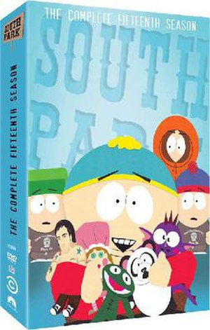 South Park (season 15) - DVD cover