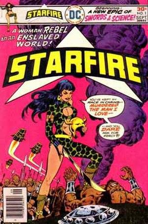 Starfire (Star Hunters) - Image: Starfireclassic