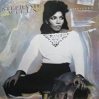 Merciless (Stephanie Mills album) - Image: Stephaniemillsmercil ess