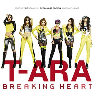 Absolute First Album - Image: T ara Breaking Heart Repackage