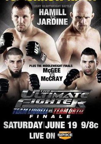 The Ultimate Fighter: Team Liddell vs. Team Ortiz - Image: TUF 11 Poster