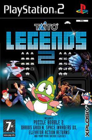 Taito Legends 2 - Image: Taito Legends 2