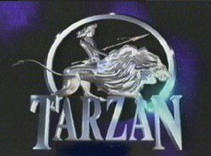 "Tarzan: The Epic Adventures - Logo of ""Tarzan: The Epic Adventures"""