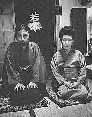 Tatsumi Hijikata - Tatsumi Hijikata (left) and Sada Abe (right) in 1969.