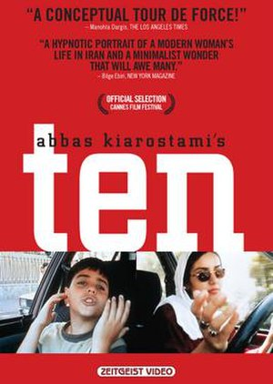 Ten (2002 film) - Image: Ten DVD