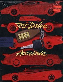 <i>Test Drive</i> (1987 video game) racing video game