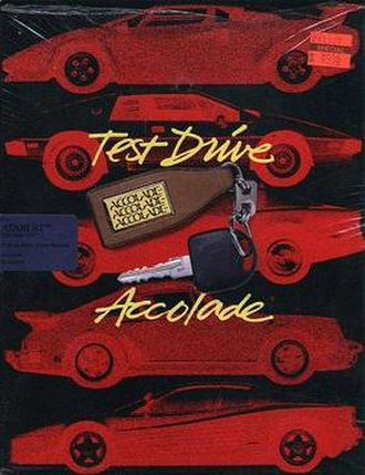 Test Drive (1987 video game) - Image: Test Drive cover