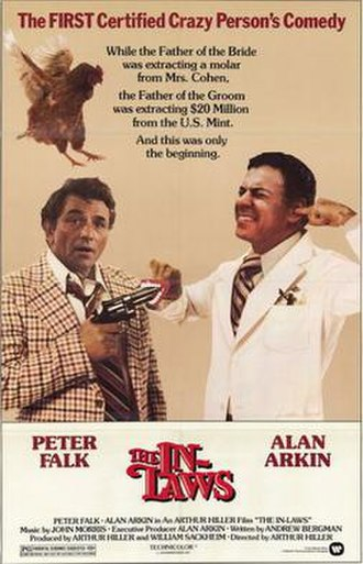 The In-Laws (1979 film) - Theatrical film poster