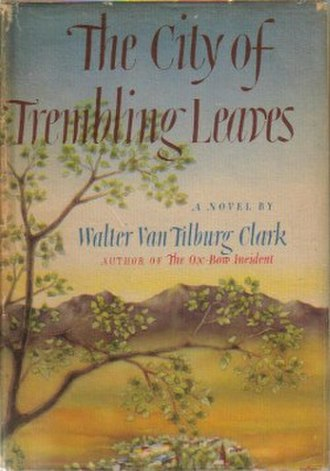The City of Trembling Leaves - First edition (publ. Random House)