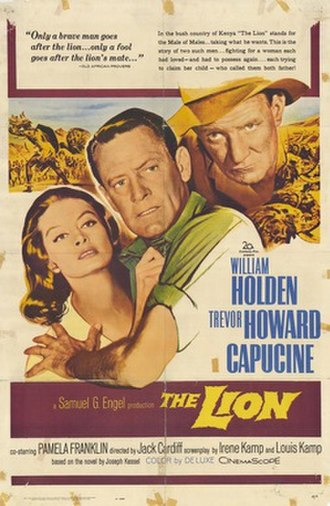 The Lion (film) - Image: The Lion movie poster 1962