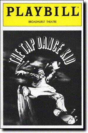 The Tap Dance Kid - 1983 Broadway Playbill