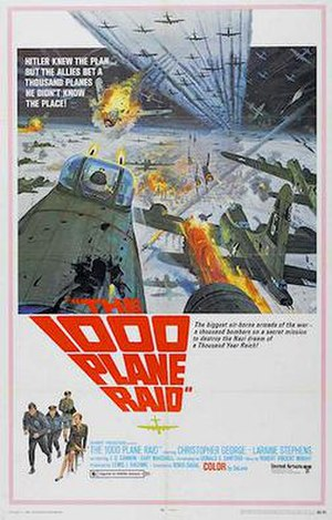 The Thousand Plane Raid - 1969 film poster