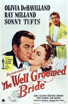The Well-Groomed Bride 1946 Poster.jpg