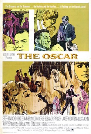 The Oscar (film) - Theatrical release poster