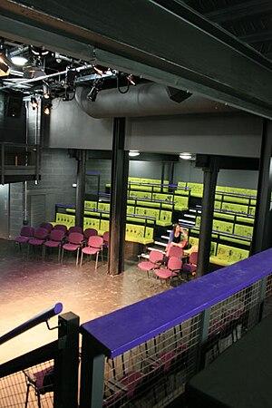 The Round - Image: Theatre Interior