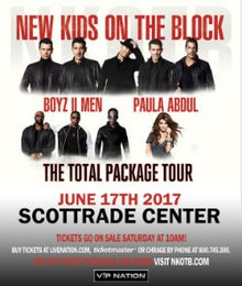 Total Tour Package New Kids On The Block Rochester Ny