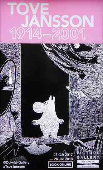 Tove Jansson - Image: Tove Jansson at Dulwich Picture Gallery Poster