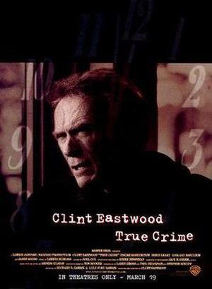 True Crime (1999 film) - Theatrical release poster