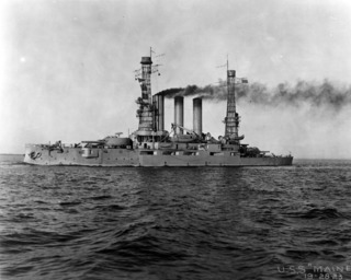 USS <i>Maine</i> (BB-10) Maine-class pre-dreadnought battleship of the United States Navy