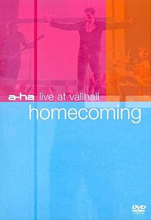 <i>Live at Vallhall: Homecoming</i> 2001 video by A-ha