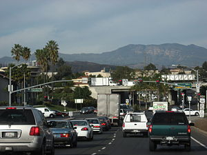 Ventura County, California - Typical rush hour traffic in Ventura
