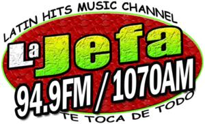 WCSZ - Image: WCSZ La Jefa 94.9 1070 logo