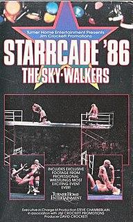 Starrcade (1986) 1986 Jim Crockett Promotions closed-circuit television event