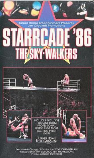 Starrcade (1986) - VHS cover featuring various wrestlers