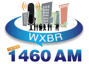 WATD (AM) - WXBR logo from 2012-2014, under the ownership of Azure Media.