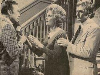 Return to Peyton Place (TV series) - Warren Stevens, Bettye Ackerman, and Guy Stockwell as Elliot, Connie, and Michael