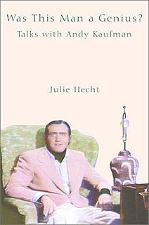 <i>Was This Man a Genius?</i> book by Julie Hecht