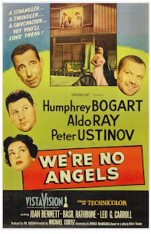 We're No Angels (1955 film) - Original movie poster