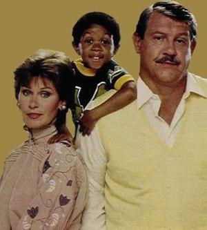 Webster (TV series) - Image: Webster Cast
