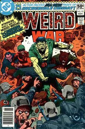 Creature Commandos - Image: Weird war tales 93