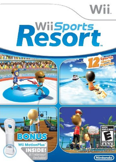 <i>Wii Sports Resort</i> sports video game