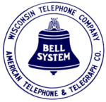 Wisconsin Telephone logo, 1921-1939