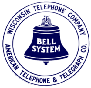 Wisconsin Bell - Wisconsin Telephone logo, 1921-1939
